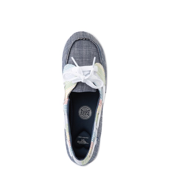 alternate view Womens Rocket Dog Meer Slip On Casual Shoe - Navy / MultiALT2