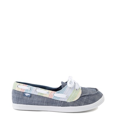 Main view of Womens Rocket Dog Meer Slip On Casual Shoe - Navy / Multi
