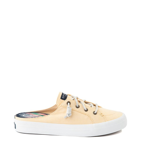Womens Sperry Top-Sider Crest Vibe Mule Sneaker - Yellow