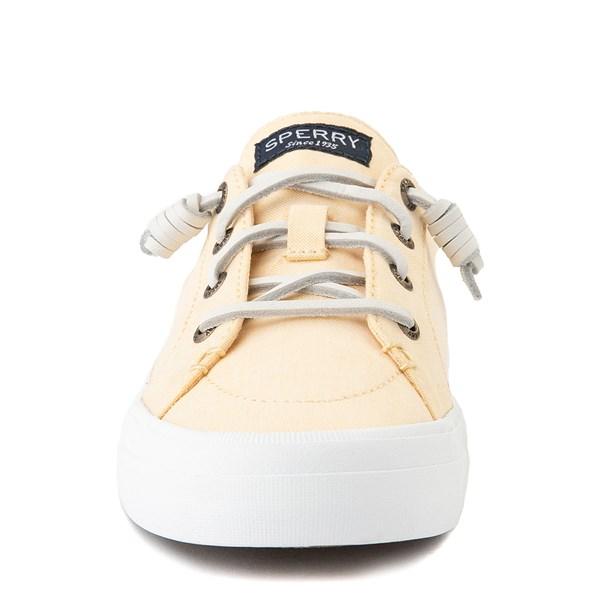 alternate view Womens Sperry Top-Sider Crest Vibe Mule Sneaker - YellowALT4