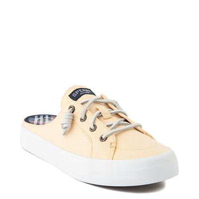 Alternate view of Womens Sperry Top-Sider Crest Vibe Mule Sneaker - Yellow
