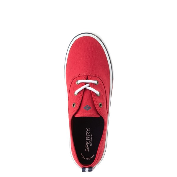 alternate view Womens Sperry Top-Sider Crest Striper Casual Shoe - RedALT2