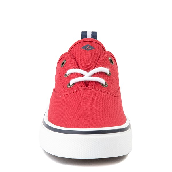 alternate view Womens Sperry Top-Sider Crest Striper Casual Shoe - RedALT4