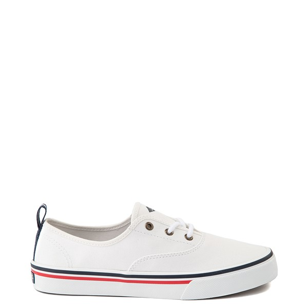 Main view of Womens Sperry Top-Sider Crest Striper Casual Shoe - White