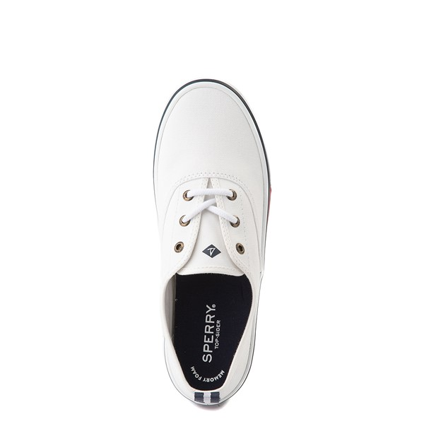 alternate view Womens Sperry Top-Sider Crest Striper Casual Shoe - WhiteALT2