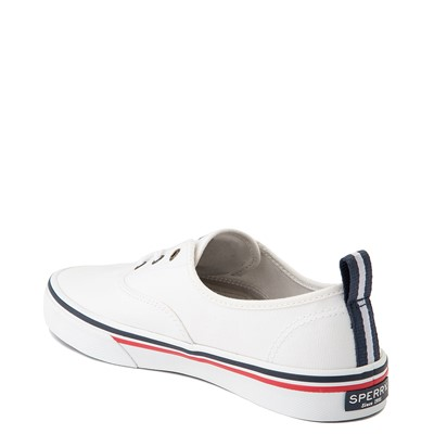 Alternate view of Womens Sperry Top-Sider Crest Striper Casual Shoe - White