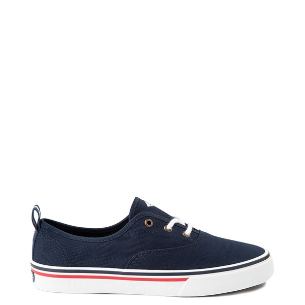Main view of Womens Sperry Top-Sider Crest Striper Casual Shoe - Navy