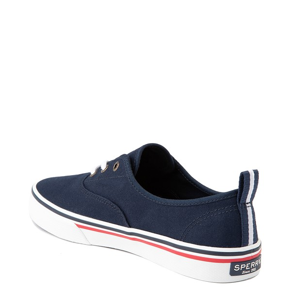 alternate view Womens Sperry Top-Sider Crest Striper Casual Shoe - NavyALT1