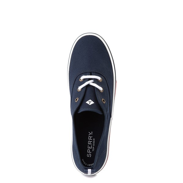 alternate view Womens Sperry Top-Sider Crest Striper Casual Shoe - NavyALT2