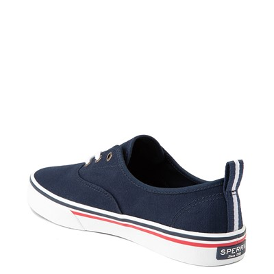 Alternate view of Womens Sperry Top-Sider Crest Striper Casual Shoe - Navy