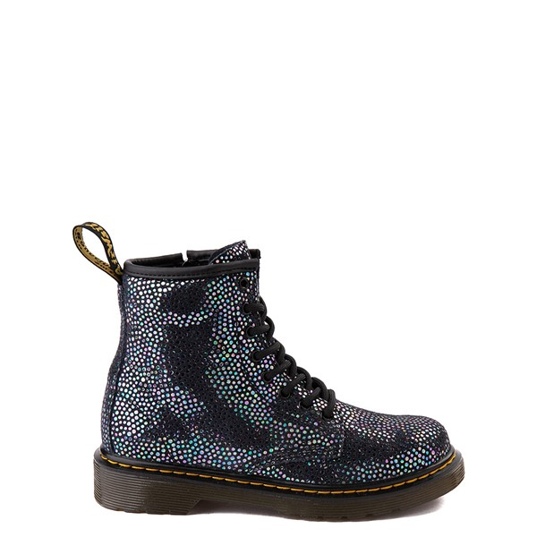 Dr. Martens 1460 8-Eye Metallic Spot Boot - Little Kid / Big Kid - Black