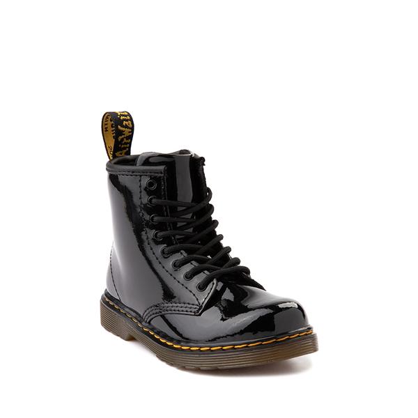 alternate view Dr. Martens 1460 8-Eye Patent Boot - Toddler - BlackALT5