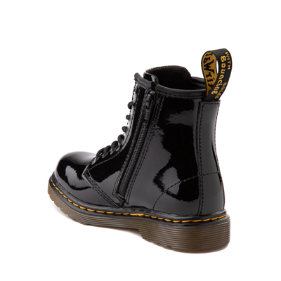 Alternate view of Dr. Martens 1460 8-Eye Patent Boot - Toddler - Black