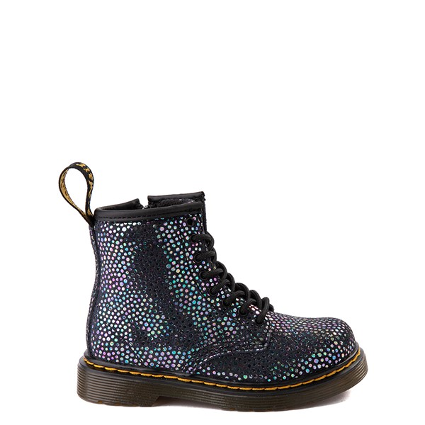 Dr. Martens 1460 8-Eye Metallic Spot Boot - Toddler - Black