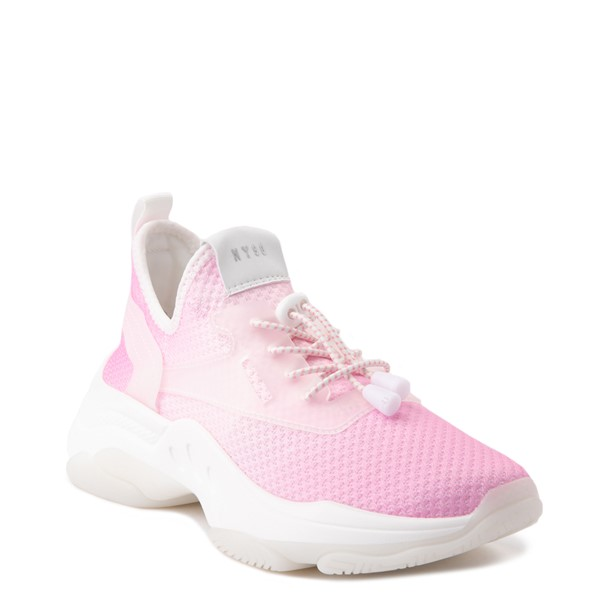 alternate view Womens Steve Madden Myles Slim Sneaker - PinkALT5