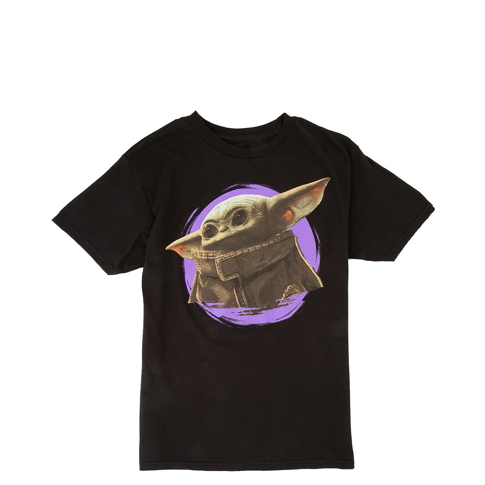 Mandalorian The Child Tee - Little Kid / Big Kid - Black