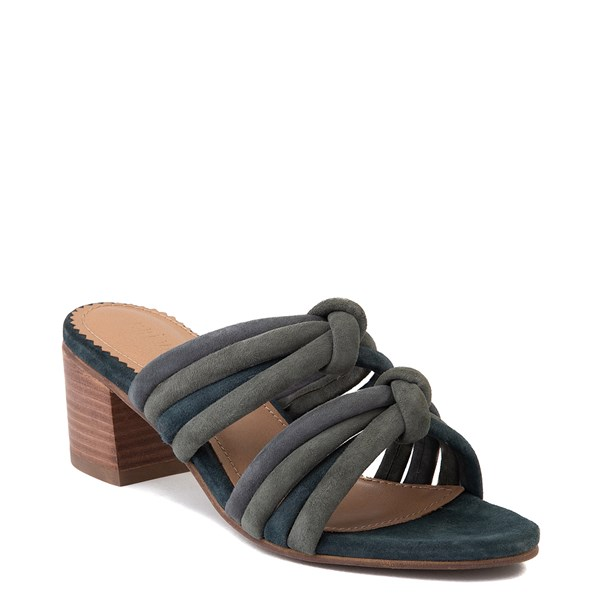 alternate view Womens Crevo Rubie Heel Sandal - Dusty BlueALT1
