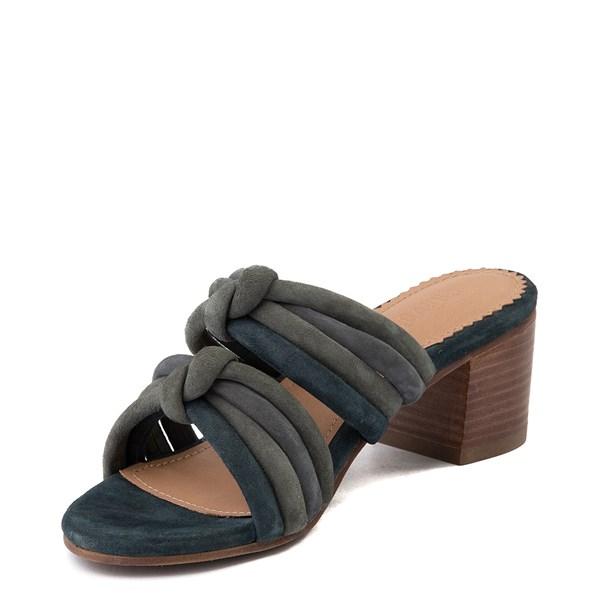 alternate view Womens Crevo Rubie Heel Sandal - Dusty BlueALT3