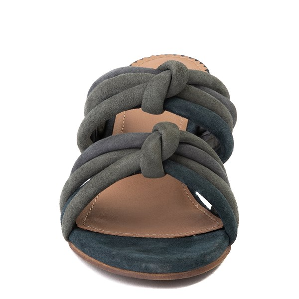 alternate view Womens Crevo Rubie Heel Sandal - Dusty BlueALT4