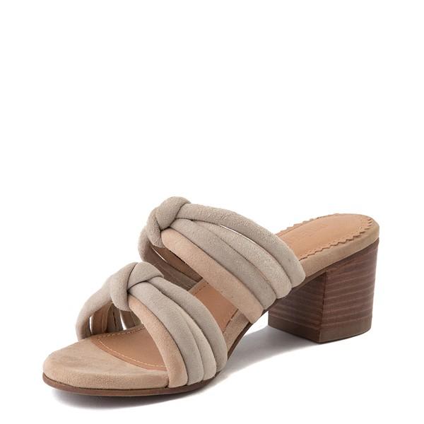 alternate view Womens Crevo Rubie Heel Sandal - TaupeALT3