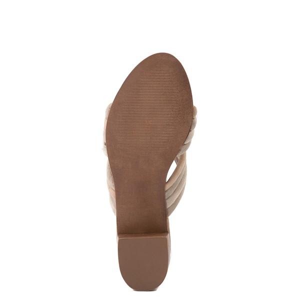 alternate view Womens Crevo Rubie Heel Sandal - TaupeALT5