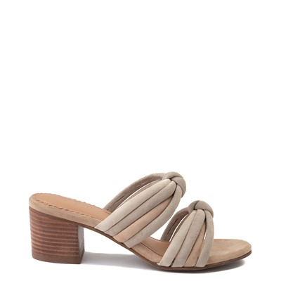 Main view of Womens Crevo Rubie Heel Sandal - Taupe