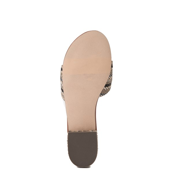 alternate view Womens Crevo Safron Slide Sandal - Blue / MulticolorALT5