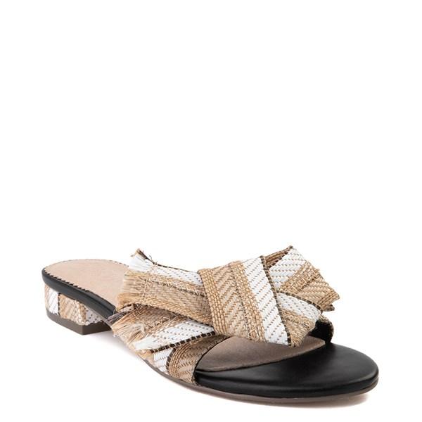 alternate view Womens Crevo Safron Slide Sandal - Natural / MulticolorALT1