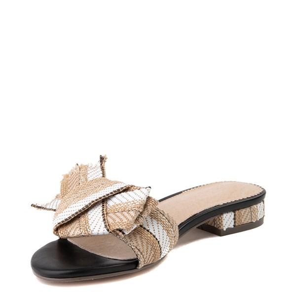 alternate view Womens Crevo Safron Slide Sandal - Natural / MulticolorALT3