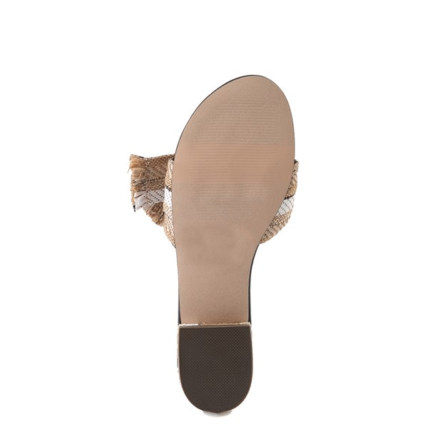 alternate view Womens Crevo Safron Slide Sandal - Natural / MulticolorALT5