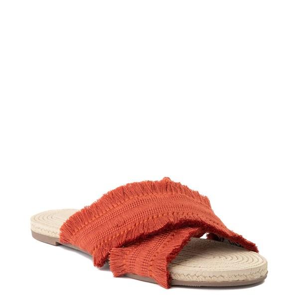 alternate view Womens Crevo Monroe Slide Sandal - OrangeALT1