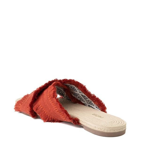 alternate view Womens Crevo Monroe Slide Sandal - OrangeALT2