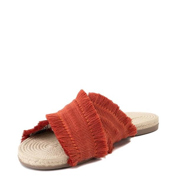 alternate view Womens Crevo Monroe Slide Sandal - OrangeALT3