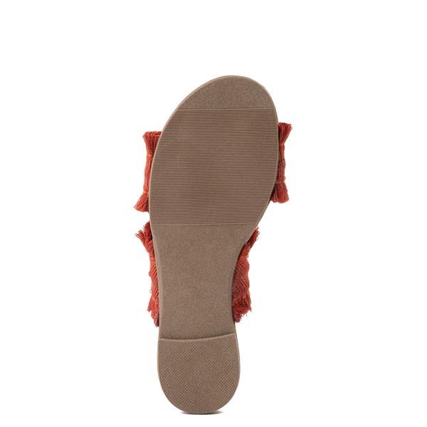 alternate view Womens Crevo Monroe Slide Sandal - OrangeALT5