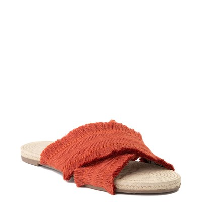 Alternate view of Womens Crevo Monroe Slide Sandal - Orange