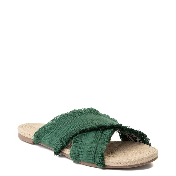 alternate view Womens Crevo Monroe Slide Sandal - GreenALT1
