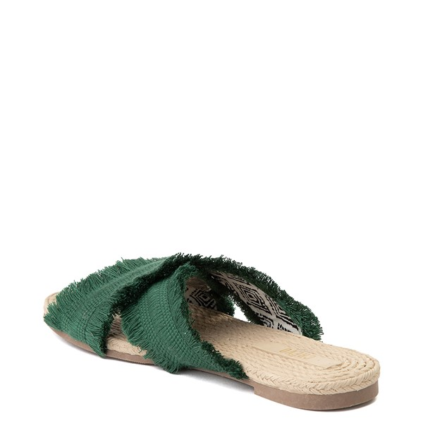 alternate view Womens Crevo Monroe Slide Sandal - GreenALT2