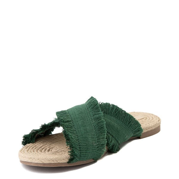 alternate view Womens Crevo Monroe Slide Sandal - GreenALT3