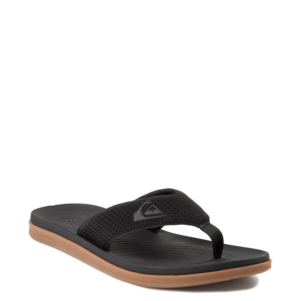 alternate view Mens Quiksilver Haleiwa Plus Sandal - BlackALT1