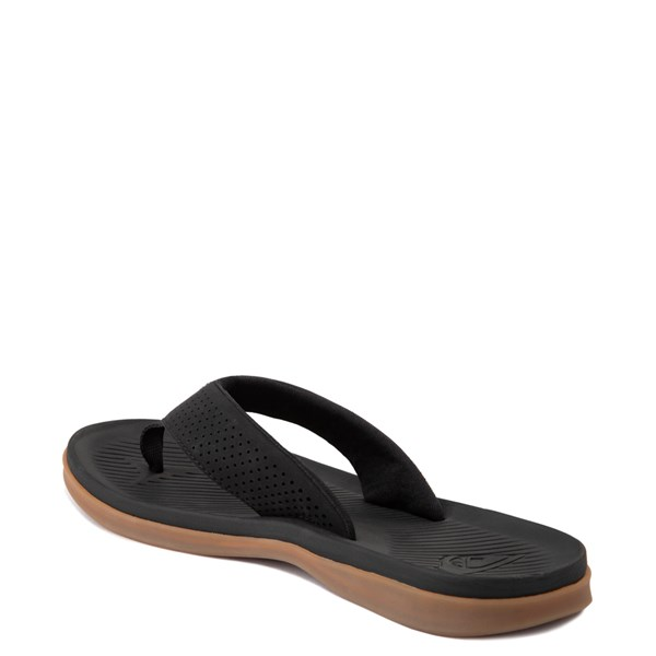 alternate view Mens Quiksilver Haleiwa Plus Sandal - BlackALT2