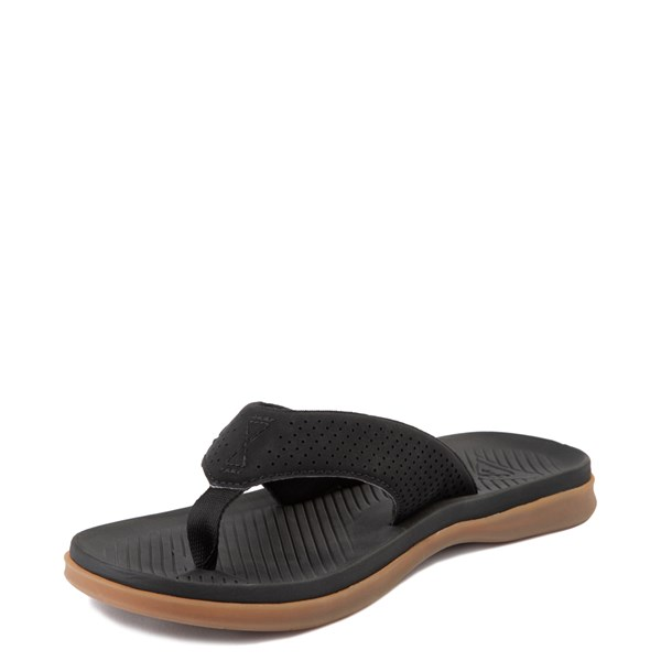 alternate view Mens Quiksilver Haleiwa Plus Sandal - BlackALT3
