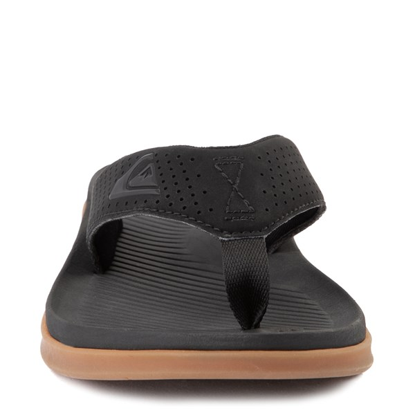 alternate view Mens Quiksilver Haleiwa Plus Sandal - BlackALT4