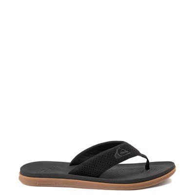 Main view of Mens Quiksilver Haleiwa Plus Sandal - Black
