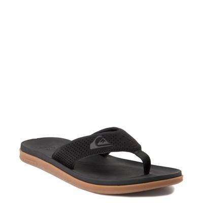 Alternate view of Mens Quiksilver Haleiwa Plus Sandal - Black
