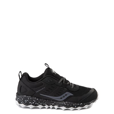 Main view of Saucony Peregrine 10 Shield Athletic Shoe - Little Kid / Big Kid - Black