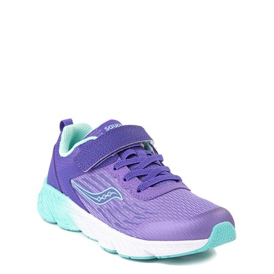 Alternate view of Saucony Wind A/C Athletic Shoe - Little Kid / Big Kid - Purple