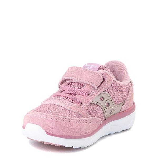 alternate view Saucony Jazz Lite Athletic Shoe - Baby / Toddler / Little Kid - BlushALT3
