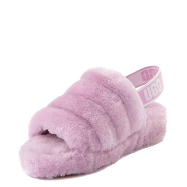 alternate view Womens UGG® Fluff Yeah Slide Sandal - California AsterALT3