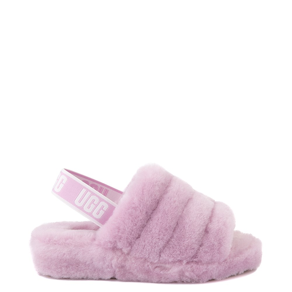 Womens UGG® Fluff Yeah Slide Sandal - California Aster