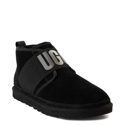Alternate view of Mens UGG® Neumel Graphic Casual Shoe - Black